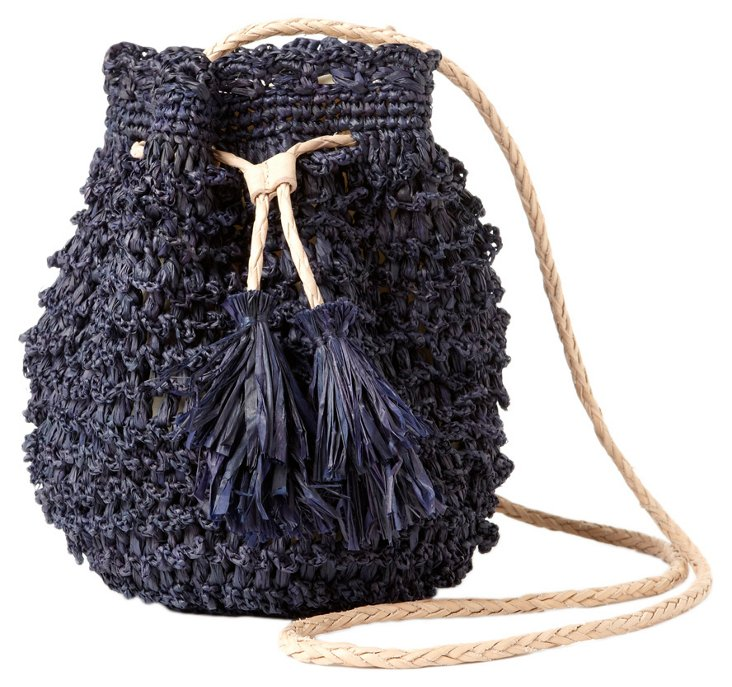 Cross Body Pouchette, Navy