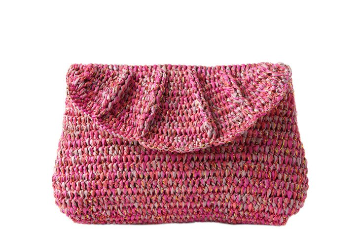 Crocheted Clutch, Punch