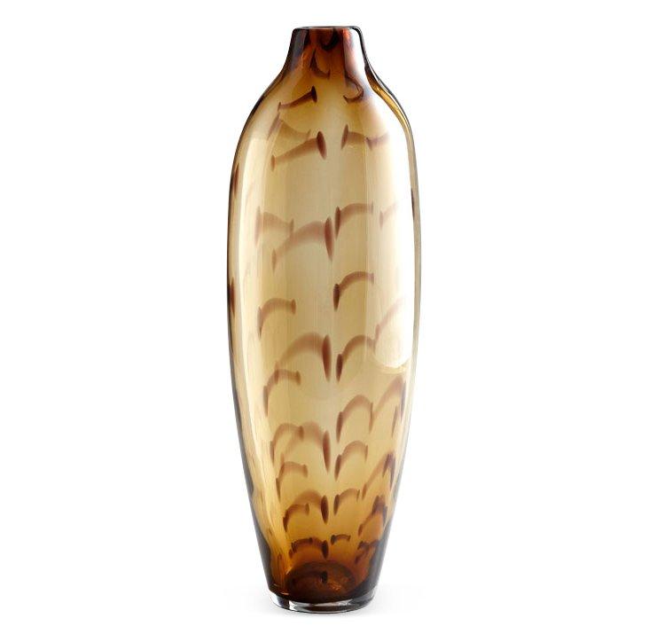 "20"" Turkish Amber Vase"