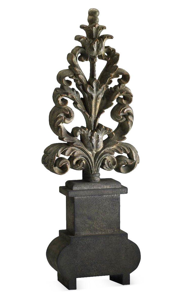 """28"""" Leaf Sculpture"""