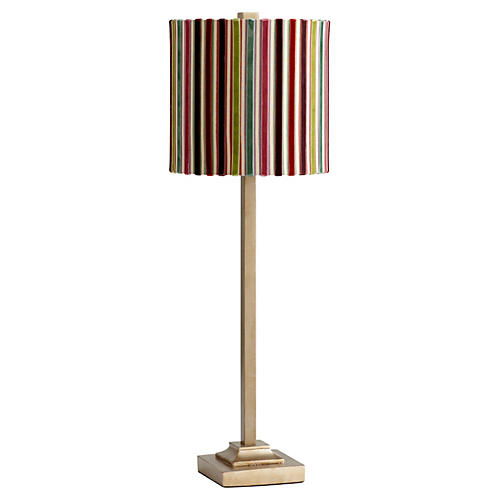 Santa Cruz Buffet Lamp, Gold