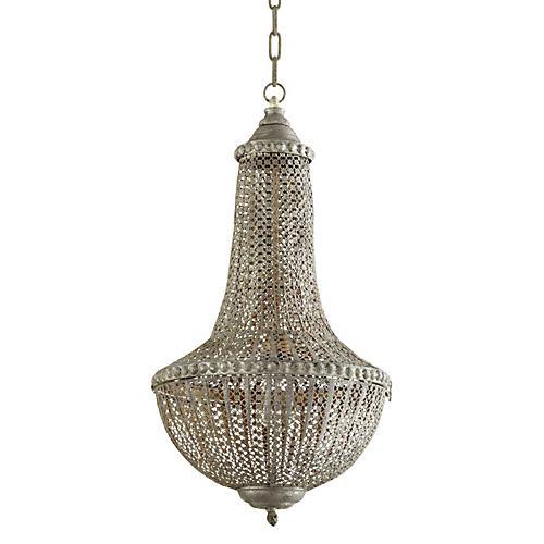 Berber Pendant, Antiqued Silver