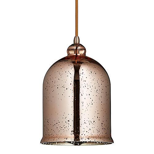 Celia Pendant, Satin Copper