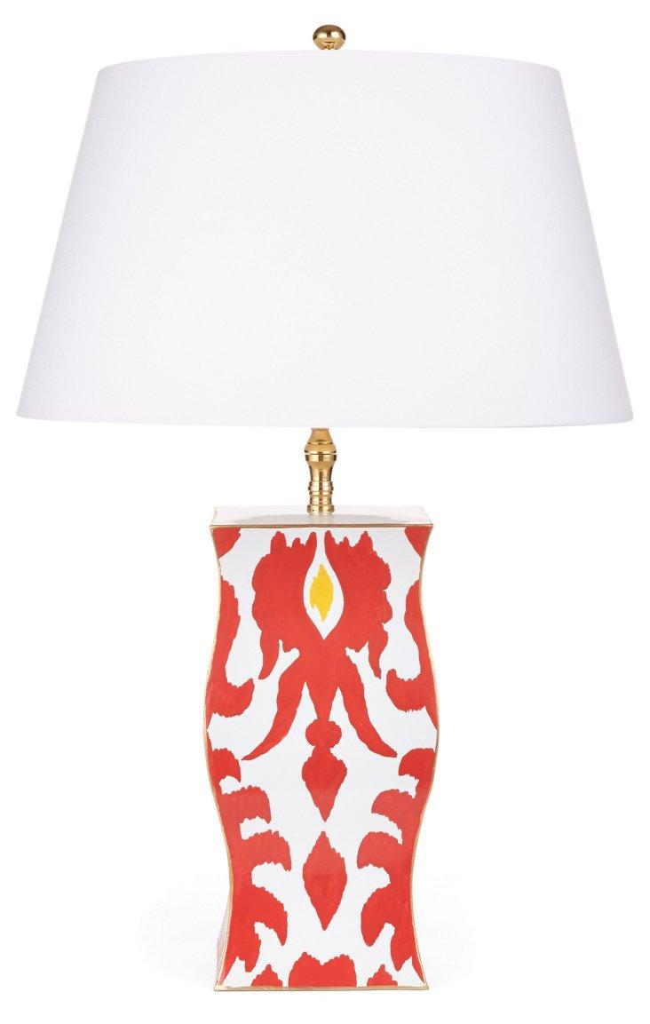 Verushka Vase Lamp, Orange