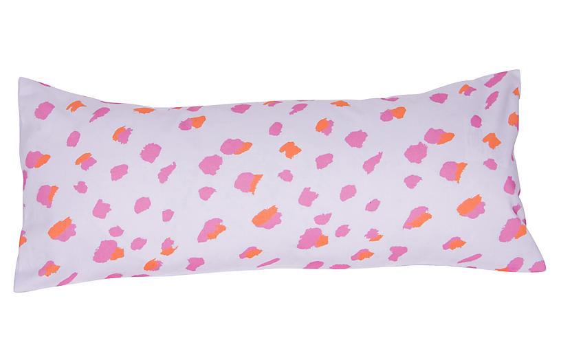 Fleck 12x24 Pillow, Pink