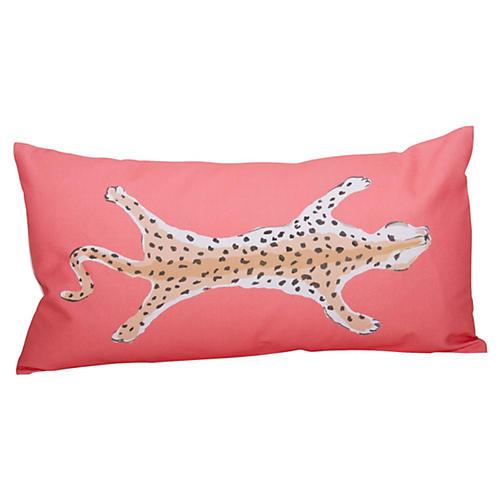 Leopard 12x24 Pillow, Orange
