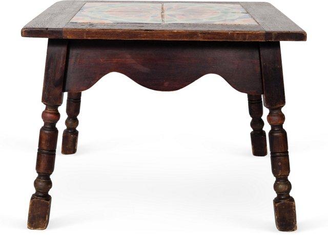 Side Table w/ Tile Top III
