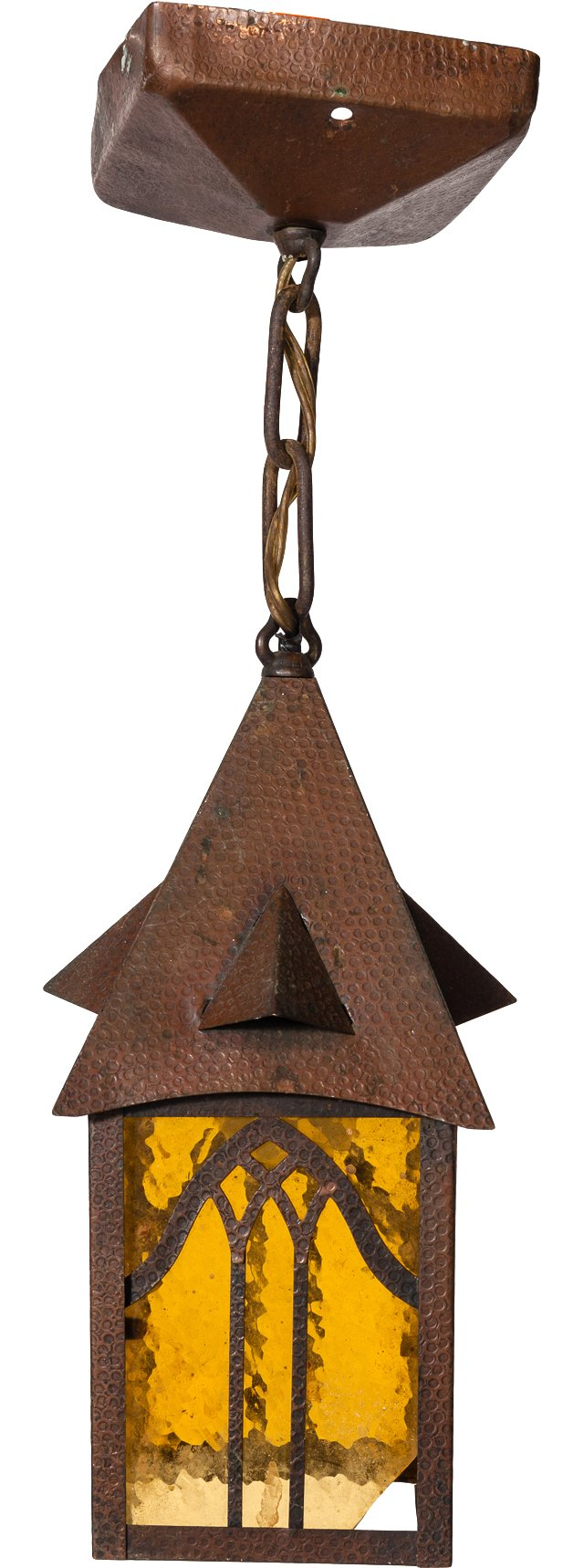 Small Pointed Hanging Light