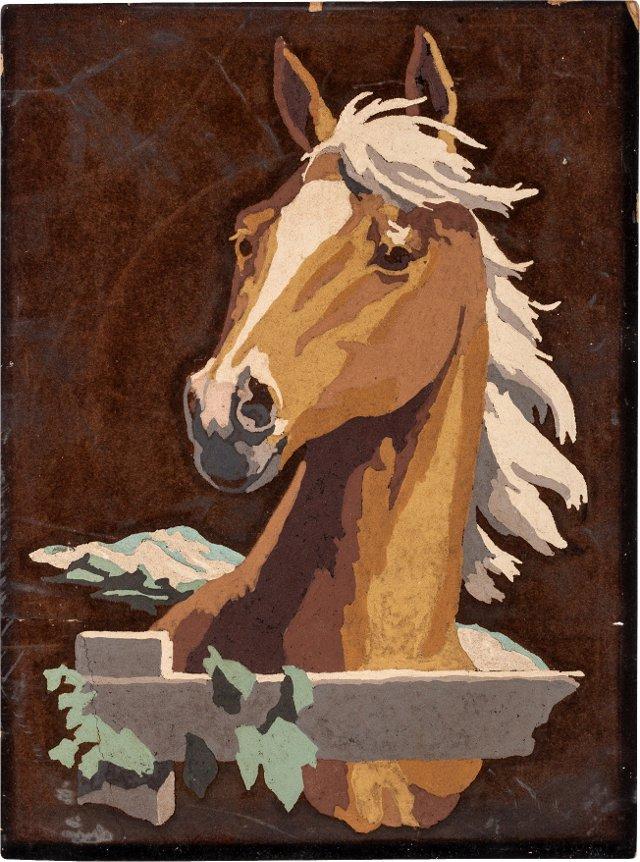 Velvet Painting, Horse