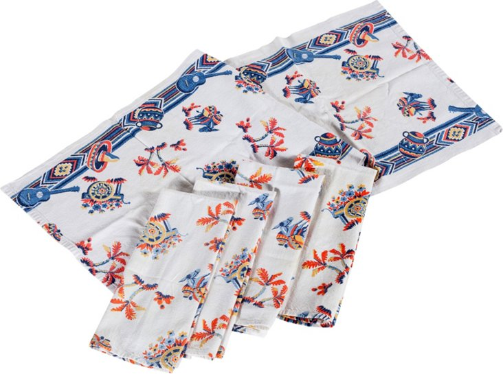 Mexican Tea Towels, Set of 5