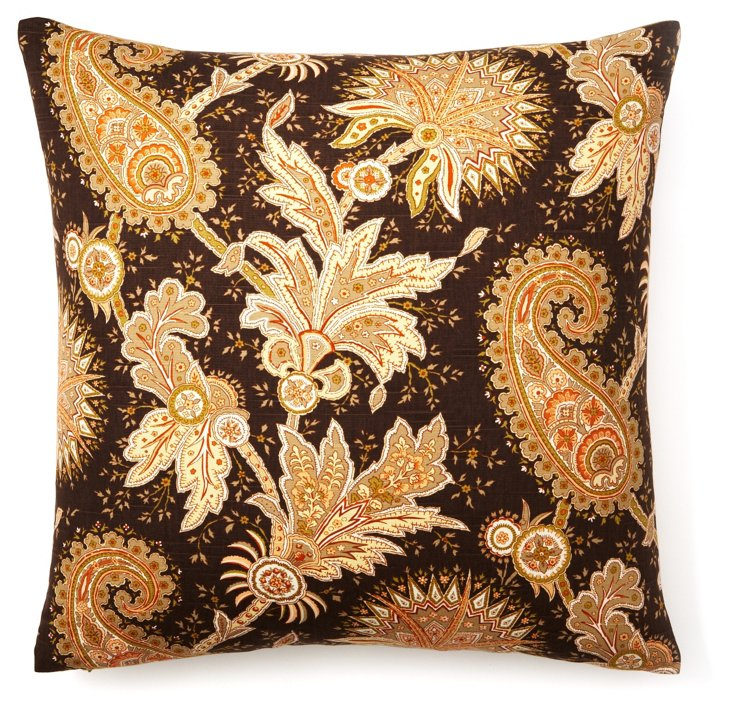 Cheswick 22x22 Pillow, Brown
