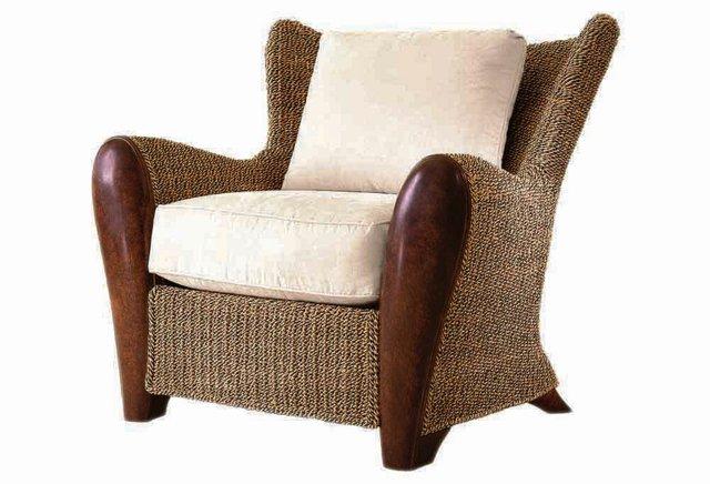 Savanna Lounge Chair, Alabaster