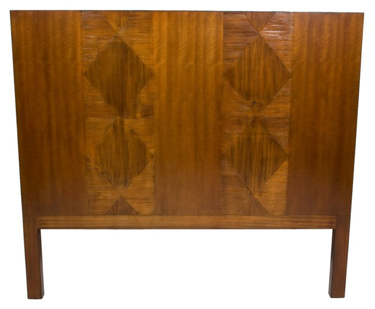 Hilo Headboard, Golden Mahogany