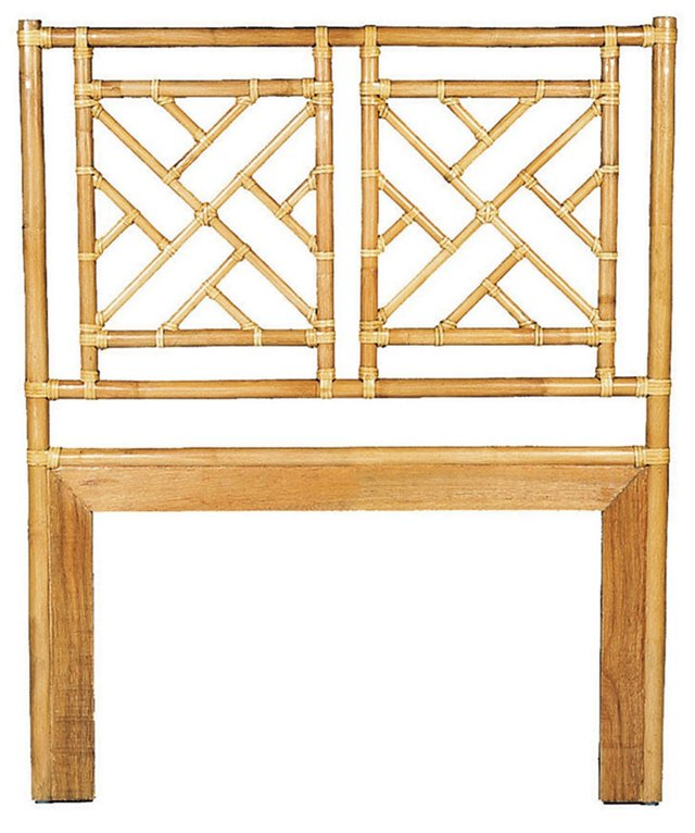 Chippendale Headboard, Bamboo