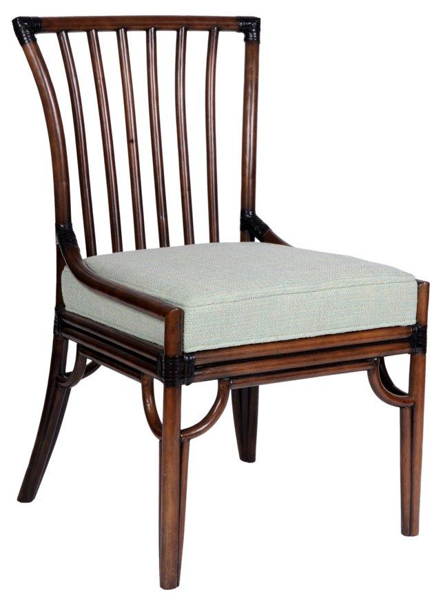 Southampton Side Chair, China Blue