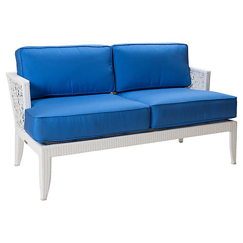 "Mykonos Outdoor 58"" Loveseat"