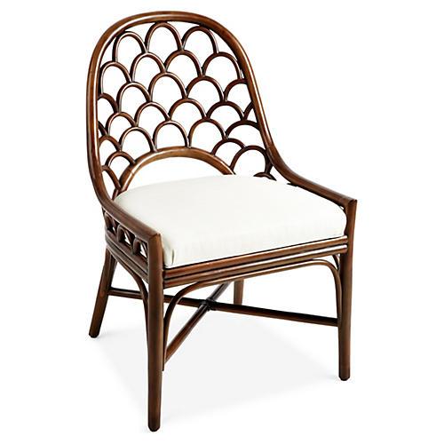 Koi Side Chair, Walnut