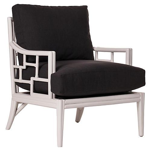 Tibet Lounge Chair, White