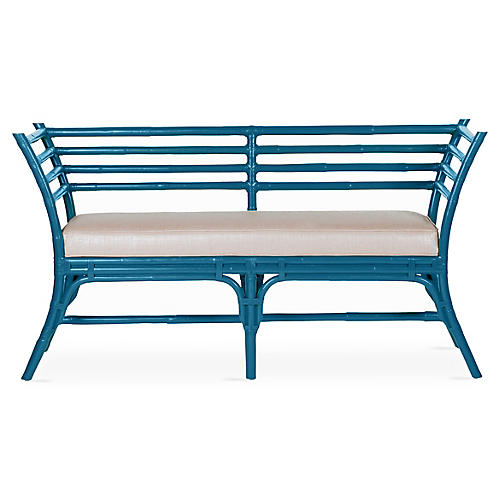 Sydney Bench, Pacific Blue