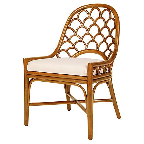 Koi Side Chair, Camel Brown