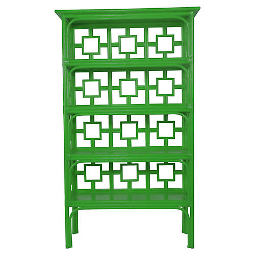 Sobe Bookcase, Bright Green