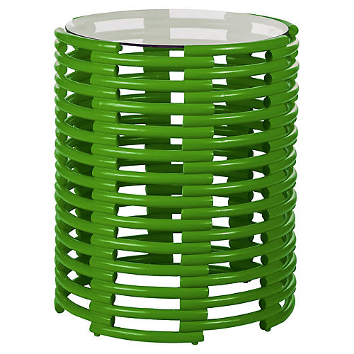 Tribeca Side Table, Bright Green