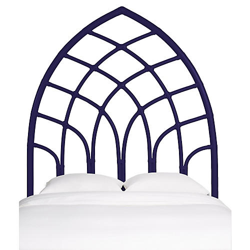 Cathedral Kids' Headboard, Perfect Purple
