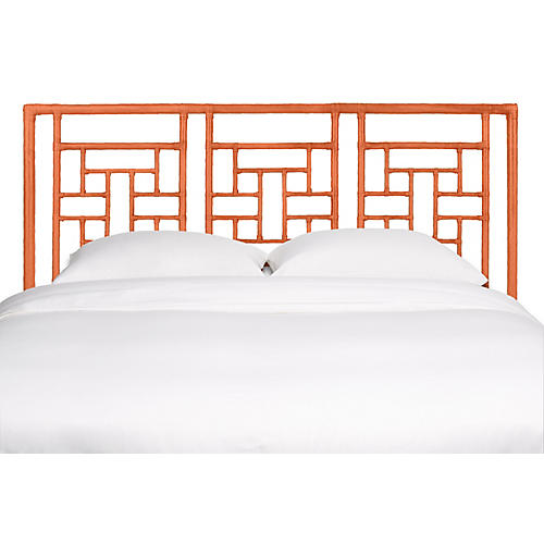 Ohana Headboard, Citrus Orange