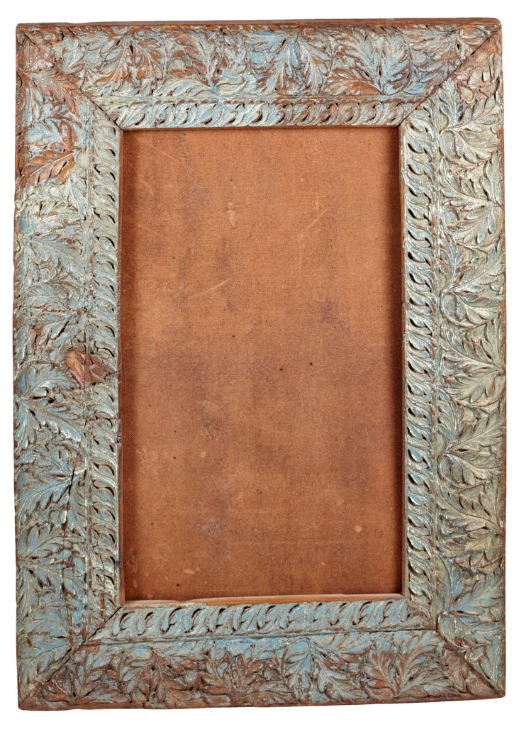 Antique Indian Carved Frame