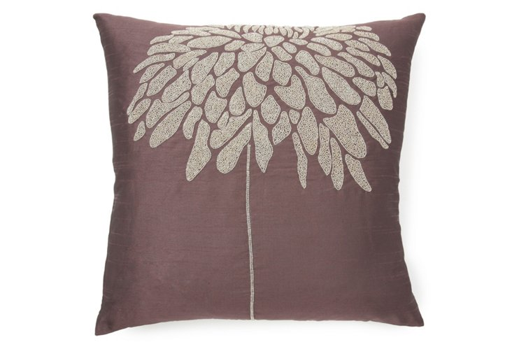 Coral Tree 20x20 Pillow, Purple