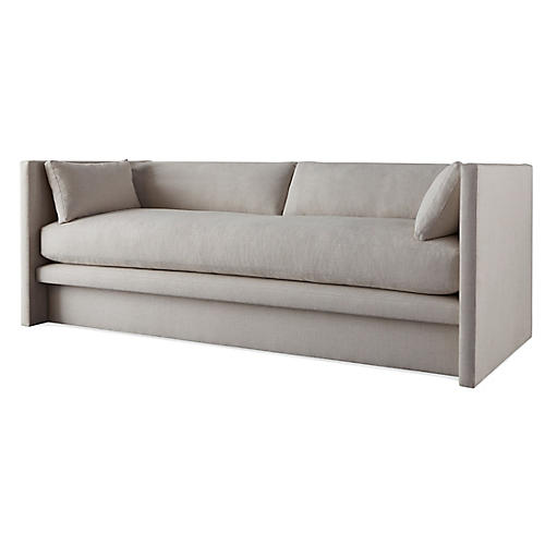 Meyer Sofa, Gray Linen