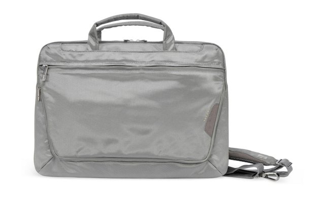 """15"""" Expanded Laptop Messenger, Gray"""