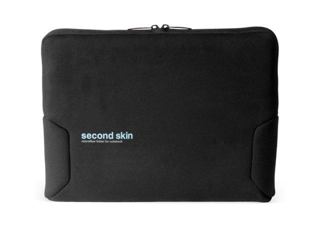 """14"""" Microfiber Notebook Sleeve, Black"""