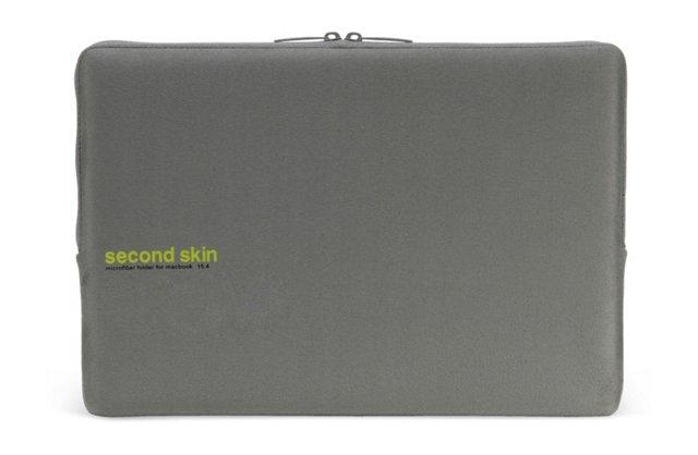 "15"" Microfiber MacBook Sleeve, Gray"