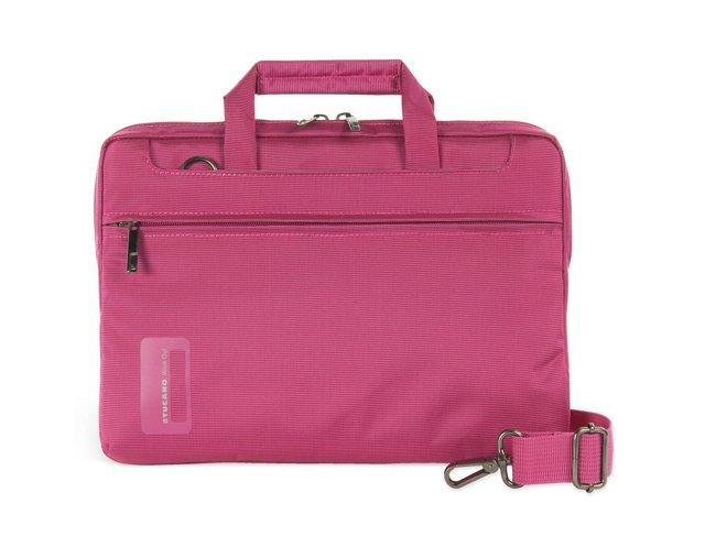 "11"" Slim Laptop Bag, Fuchsia"