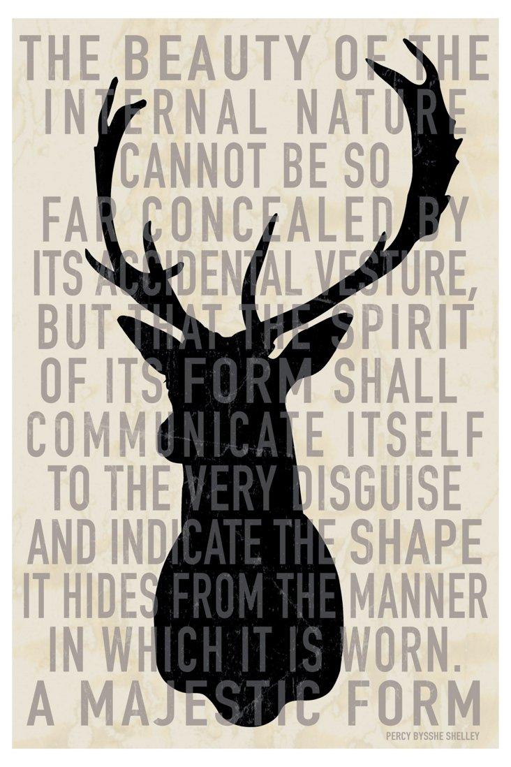 Deer Head Quote