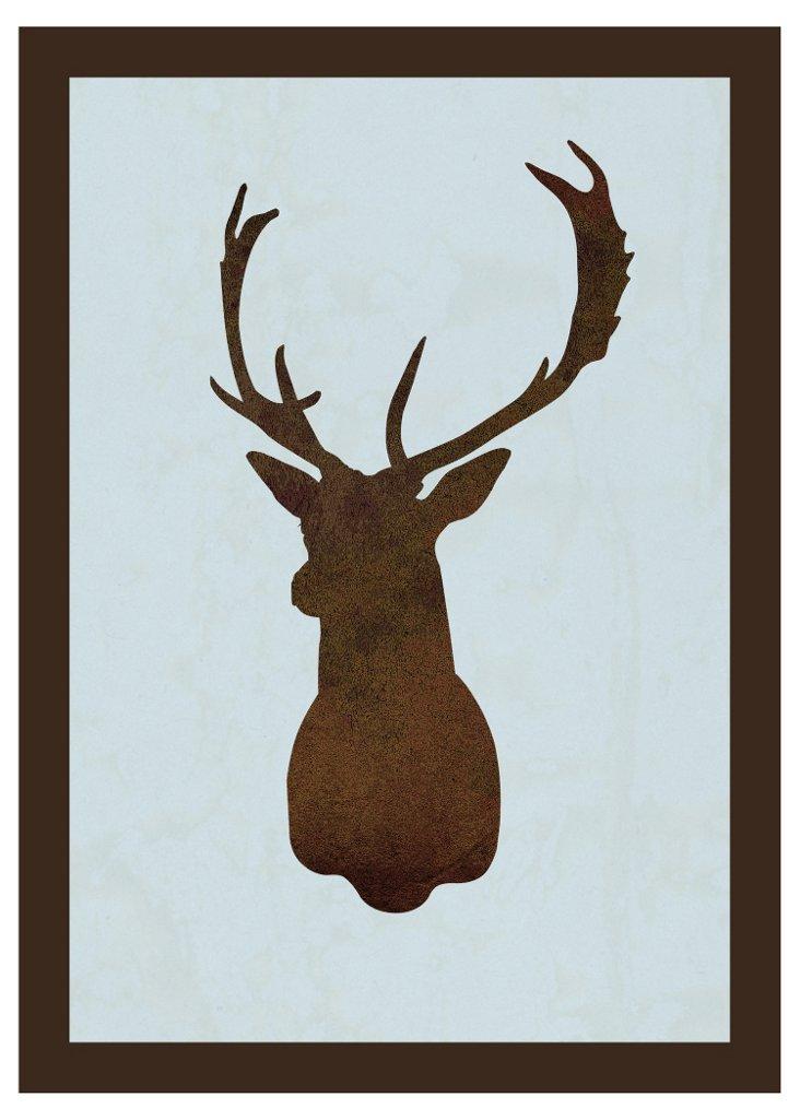 Deer Silhouette III