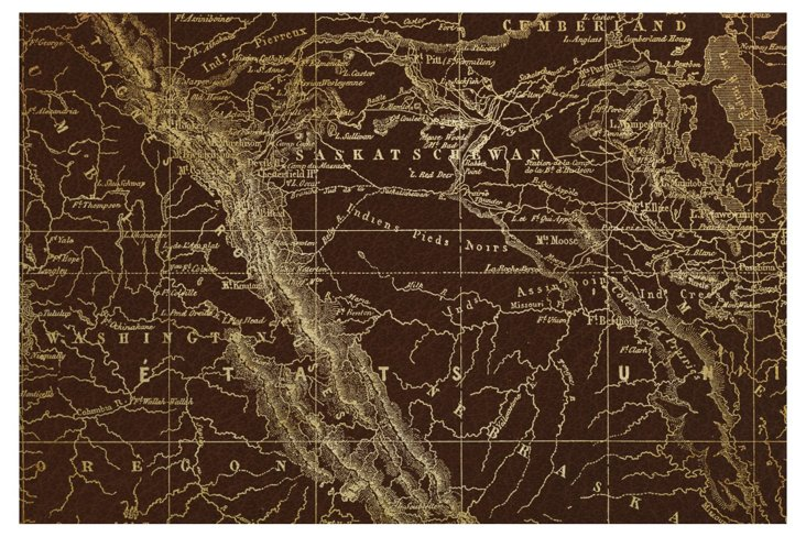 Map of Rocky Mountains