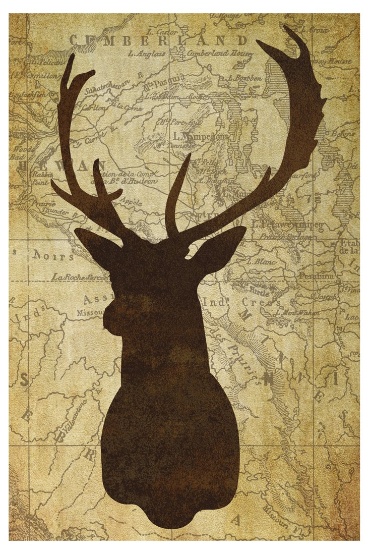 Deer Head I