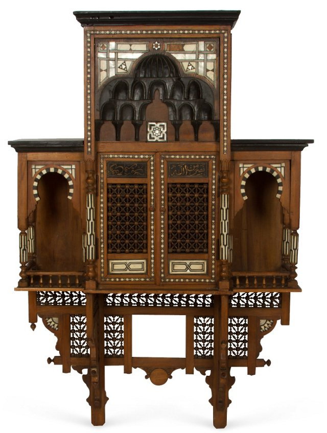 Moroccan Hanging Cabinet