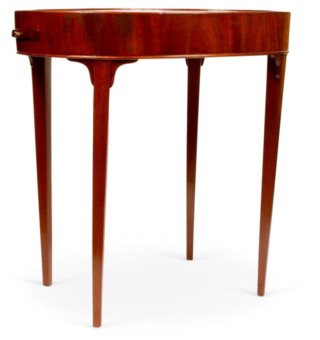 1920s Mahogany Side Table