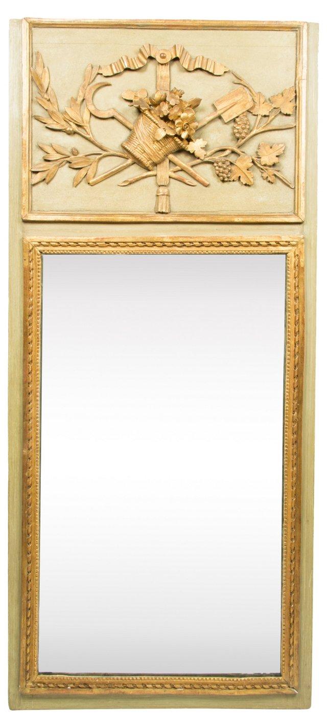 Louis XVI-Style Architectural Mirror