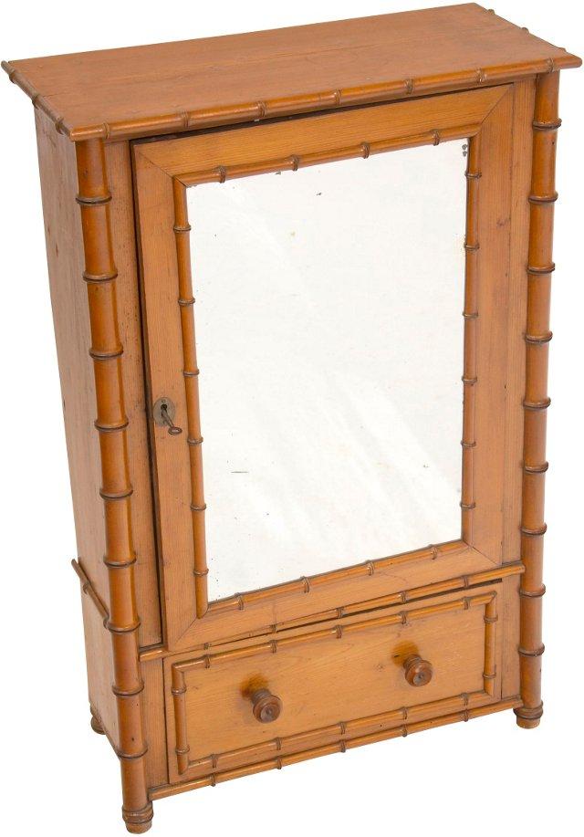 Antique Miniature Armoire