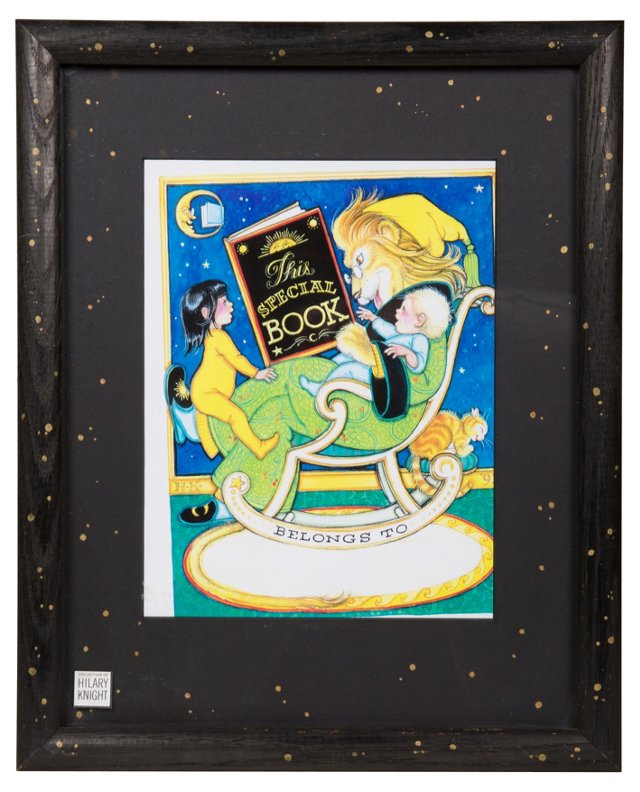 Framed & Matted Bookplate