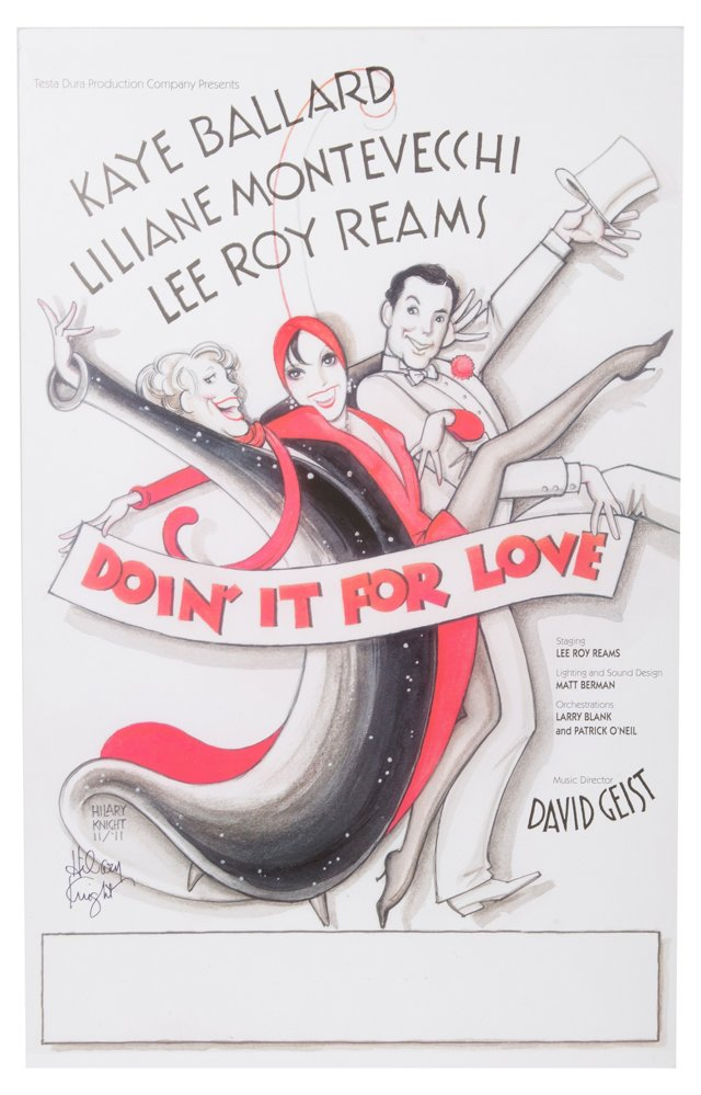 Doin' It For Love Placard II