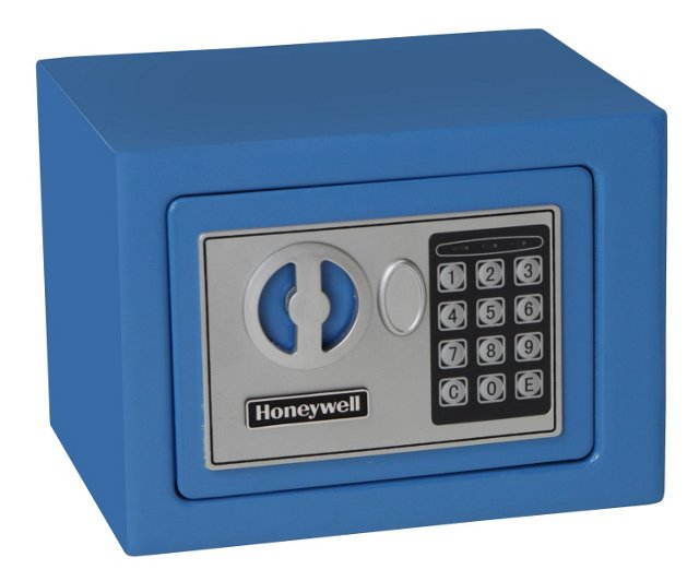 Digital Security Safe, Blue
