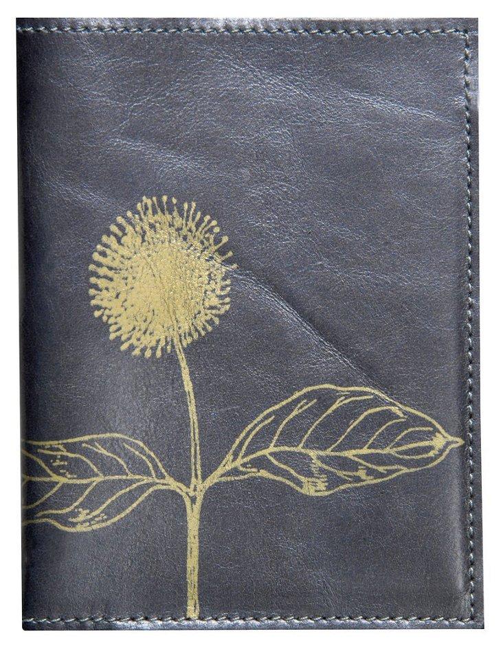 Dandelion Passport Case, Black