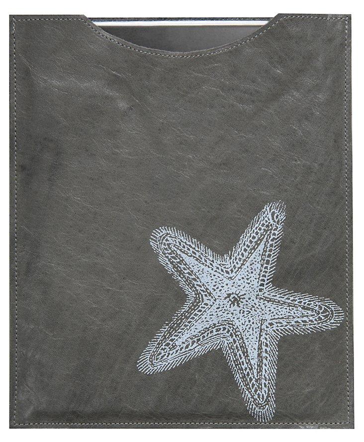 Starfish iPad Sleeve, Gray