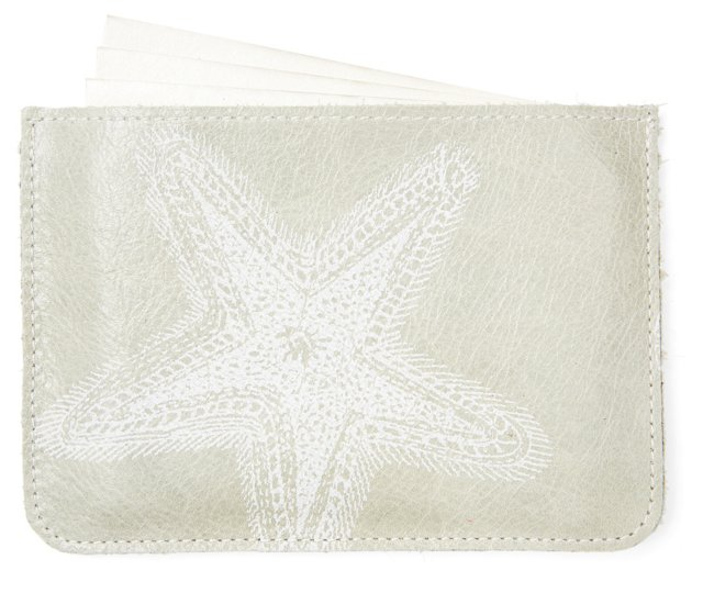 S/10 Cards in Starfish Case, Sea