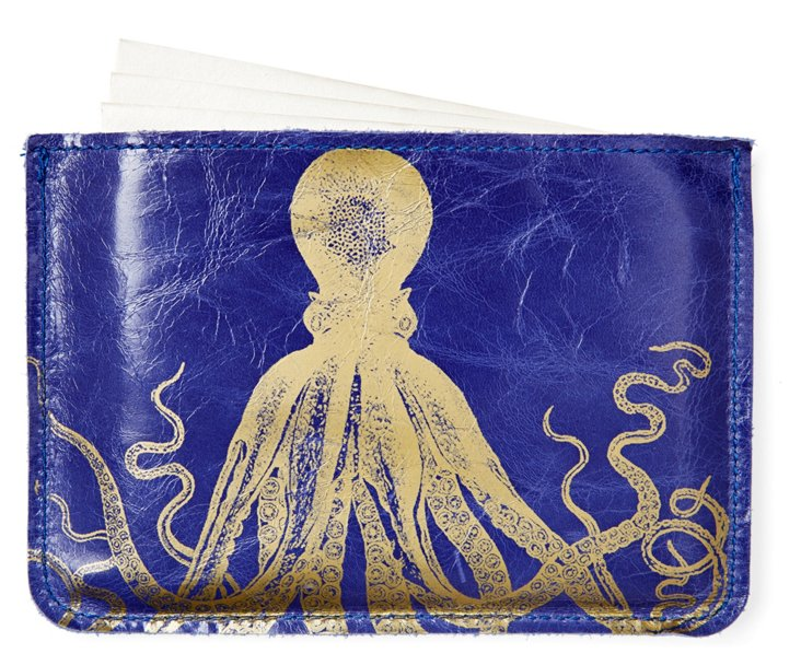 S/10 Cards in Octopus Case, Purple